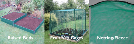 Raised Beds/Fruit Cages/Netting