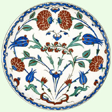 Ashmolean Museum of Art and Archaeology, University of Oxford � Roses and Tulips Plate