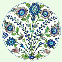Ashmolean Museum of Art and Archaeology, University of Oxford � Flower Sprays Plate