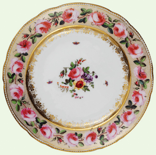 The Victoria and Albert Museum © The Pink Roses Plate